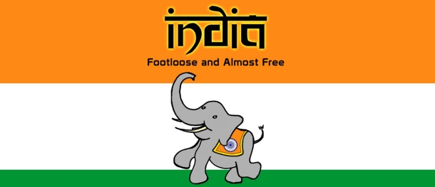 India – Footloose and Almost Free
