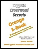 Cryptic Crossword Secrets Orange E-book