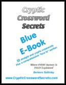 Cryptic Crossword Secrets Blue E-book